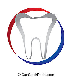 dental design - dental care design , vector illustration