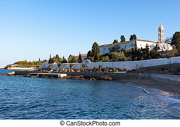 Spetses cathedral monastery