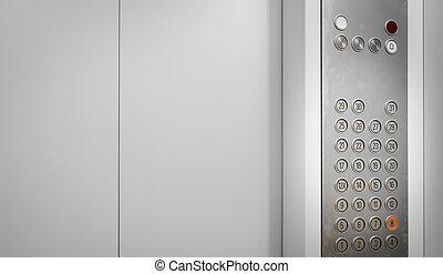 Elevator internal buttons