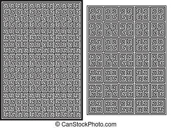 Greek Pattern - Illustration of the Greek Pattern