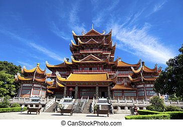 Temple of Xichan in Fuzhou - Temple of Xichan in...
