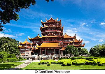 świątynia, Xichan, Fuzhou