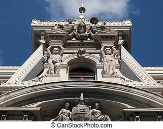 Philadelphia City Hall Tower - Philadelphia City Hall clock...