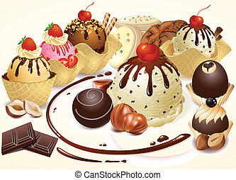 confectionery sweets - Confectionery and chocolate Baking...