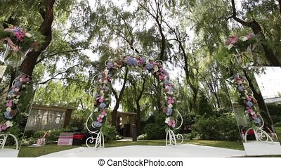 Decorate wedding ceremony - Design elements of a wedding...