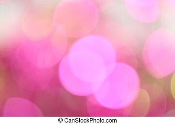 pink bokeh