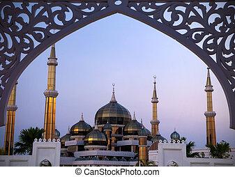 Cristal, mesquita