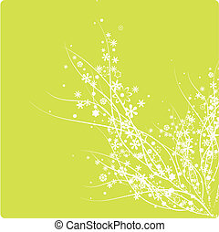 abstract flowers pattern - abstract flowers background...