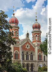 Great Synagogue, Plzen - The Great Synagogue in Plzen...