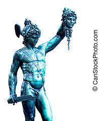 Perseus with the head of Medusa, Piazza della Signoria