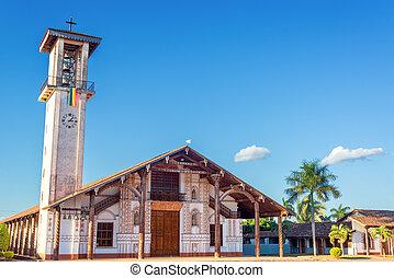 Church at San Ignacio