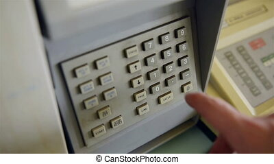 Dialing sequence into a security panel - Dialing a sequence...