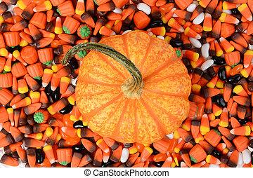 Pumpkin Halloween Candy