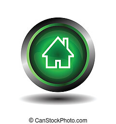 Home symbol icon isolated vector