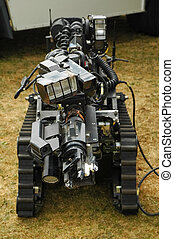 bomb disposal robot - remote control bomb disposal robot...