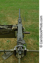 heavy machine gun - heavy military machine gun and...