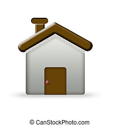 logo for real estate - Chocolate house- logo for real estate...
