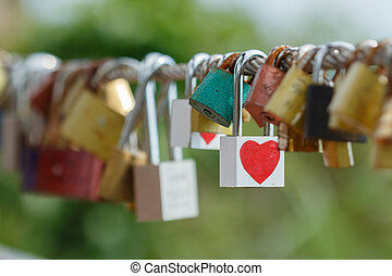 key of heart love