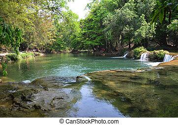 Chet Sao Noi Waterfall - Num Tok Chet Sao Noi Waterfall...