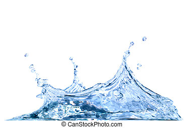 Splashing Water - Splashing water abstract background...