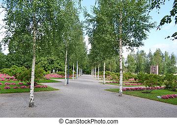 Square in Lappeenranta - Square in center of Lappeenranta at...