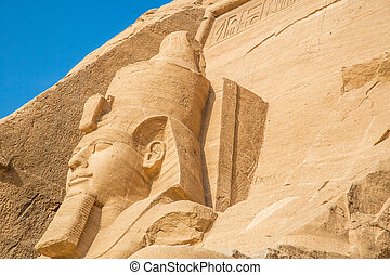 Abu Simbel - The temple of Abu Simbel in Egypt