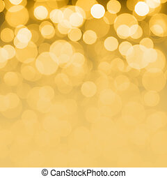 Golden holiday background - Golden Christmas and New Year...
