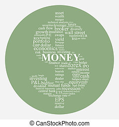 Money and Investing concept image