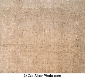 Hessian, burlap fabric rustic background Sacking - Dull but...