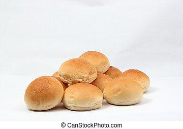 blanco, suave, rollo,  bread