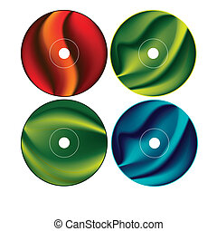 Cd - Dvd Label Design Template