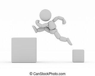 jump - 3DCG
