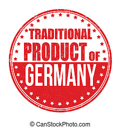 Traditional product of Germany stamp