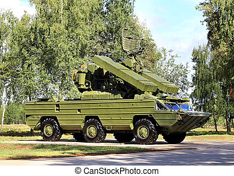 Anti-aircraft defense system - Air defense system with...