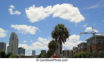 Orlando FL City Sky Line Shot Five