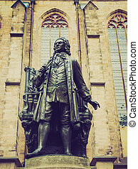 Neues Bach Denkmal - The Neues Bach Denkmal meaning new Bach...
