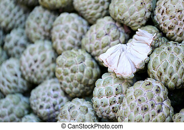 Fresh Annona fruit - Fresh Annona fruit in the foods market...