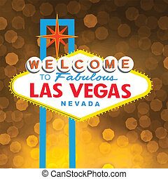 Print - Welcome to Fabulous Las Vegas Neon Sign