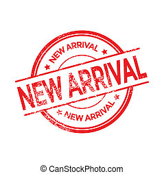 New Arrival stamp vector