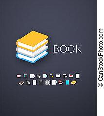 Flat icons set 21 - Flat design modern of brand identity...