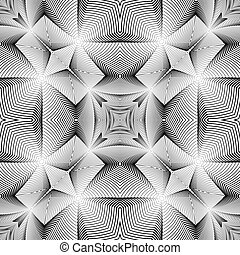 Design seamless decorative trellised pattern. Abstract...