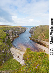 River Mouth at Smoo Cave