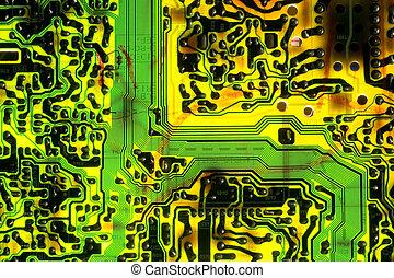 Electronic Circuit Board - Electronic circuit board...
