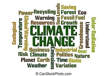clima, Mudança