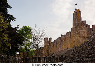 Tomar, Portugal - Castle of Tomar Convent of the Order of...