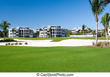 Golf Course Condos - Retirement community condos on a resort...