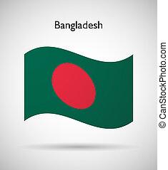 Bangladesh flag - Bangladesh official flag isolated...
