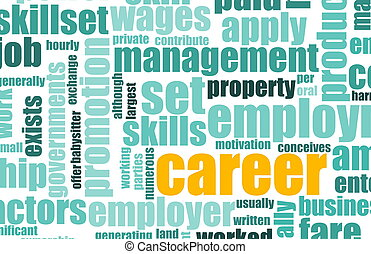 Career Employment of Job in Recruitment Industry