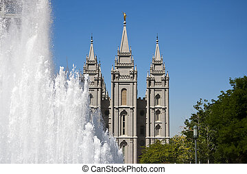 Salt Lake Temple - The Salt Lake Temple is the largest (of...