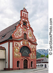 Spitalkirche, Fussen - Spitalkirche was built in 1747 on the...